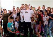 VIDEO | Ziua copilului a fost sărbatorită și prin sport! Zeci de micuți au răspuns provocării lansate de foști concurenți Exatlon