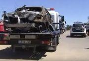 Imagini șocante de la locul accidentului în care a murit fotbalistul Jose Antonio Reyes. Ce a mai rămas din mașină