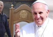 Papa în România 2019! Povestea tâmplarului român al Papei Francisc! El a creat scaunul pe care a stat Suveranul Pontif la Iași
