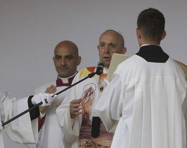 Papa în România 2019. Suveranul Pontif, mesaj emoționant la finalul ceremoniei de pe...