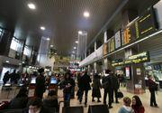 În fiecare zi aeroporturile din România înregistrează până la 7 zboruri întârziate sau anulate