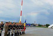 Semn divin. Un curcubeu a apărut pe cer, la Sibiu, la plecarea Papei din România - GALERIE FOTO