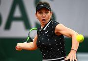 Simona Halep joacă, luni, în optimi la Roland Garros