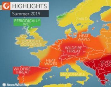 Vara 2019 va aduce fenomene meteo extreme în România