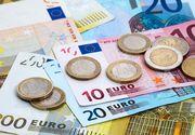Euro a scăzut. Este cel mai mic nivel din ultimele 3 luni