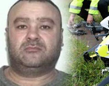 VIDEO | Ucigașul polițistului din Timiș, căutat cu drona