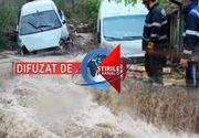 VIDEO | Acoperiți de ape. Furtunile si inundațiile au răvășit sudul României