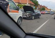 O şoferiţă care a provocat un accident în Cluj a modificat locul faptei. Ce au descoperit poliţiştii