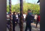 Polițistă însărcinată agresată în timpul unei intervenţii în Argeş