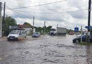 România sub ape. Drumuri blocate în țară