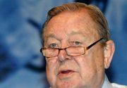 Lennart Johansson, fost preşedinte al UEFA, a murit