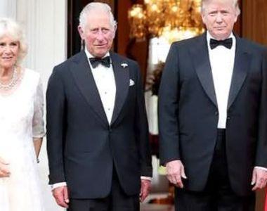 VIDEO | Donald Trump, gazda unui dineu în cinstea Prințului Charles