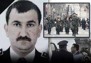 VIDEO | Polițistul din Recaș, înmormântat cu onoruri militare. Imagini pline de durere din cimitir