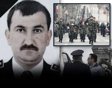 VIDEO   Polițistul din Recaș, înmormântat cu onoruri militare. Imagini pline de durere...