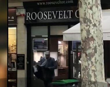 Jaf în ziua mare la un celebru magazin de bijuterii