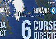 VIDEO | Românii își iau mai ușor zborul spre Canada