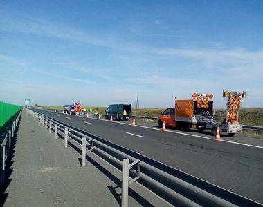Lucrări pe autostrada Bucureşti-Constanţa până în 15 iulie; traficul rutier este deviat