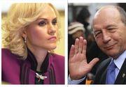 """Scandal între Băsescu şi Firea într-o emisiune TV. Schimb dur de replici: """"Primarul zero"""""""