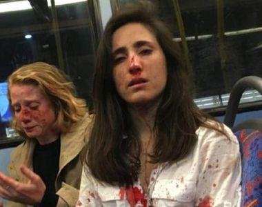 """Două tinere agresate în autobuz. """"Ne-au cerut să ne sărutăm şi ei să se uite cum o..."""