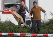 Un polițist a murit lovit de tren în timp ce încerca să prindă doi hoți români