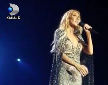 VIDEO | Celine Dion, concert în memoria soțului