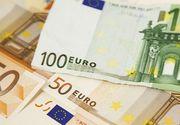 Euro a crescut spre 4,73 lei. Dolarul, la cel mai scăzut nivel din martie până în prezent