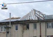 VIDEO | Vijelie ca o tornadă, la Pogoanele