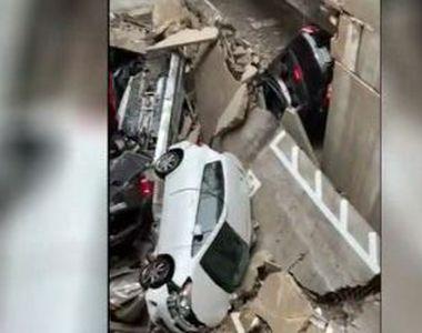 VIDEO | Tragedie uriașă în Dallas. O macara a căzut peste un bloc de locuințe