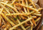 Cartofi prăjiţi ca la restaurant. Iată secretul!