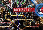 VIDEO | Experiment. Cel mai complicat traseu cu metroul