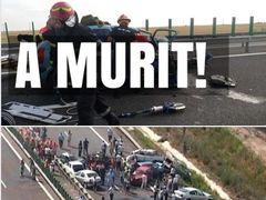 A MURIT pe autostradă, în drum spre mare, în urmă cu puțin timp - Tragedia dimineții! Alte 4 persoane, rănite grav - Detalii de la fața locului