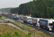 Interdicţie de circulaţie pentru camioane pe A2, DN 7 şi DN 39, în perioada Rusaliilor