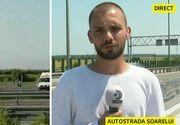 VIDEO   Trafic restricţionat pe Autostrada Soarelui după ce trei maşini s-au ciocnit pe sensul către litoral! O persoană a fost rănită