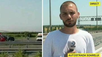VIDEO | Trafic restricţionat pe Autostrada Soarelui după ce trei maşini s-au ciocnit pe sensul către litoral! O persoană a fost rănită