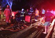 VIDEO | Accident cu 3 morți în județul Tulcea. Mașina în care se aflau s-a rupt în două