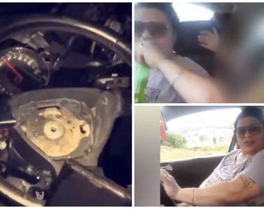 Şoferiţa care bea bere la volan, live pe facebook, şi apoi şi-a ucis nepoata. Avea 120...