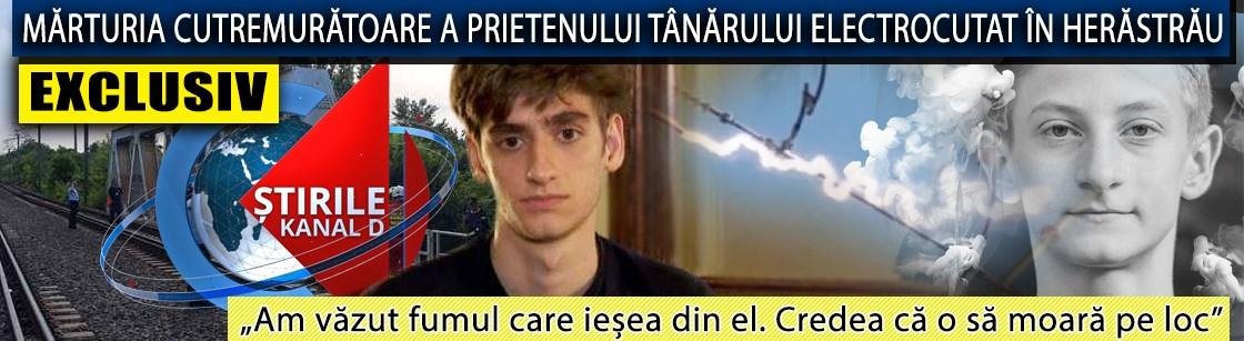 EXCLUSIV. Mărturia cutremurătoare a prietenului tânărului electrocutat pe podul din Herăstrău, la Știrile Kanal D de la ora 19.00
