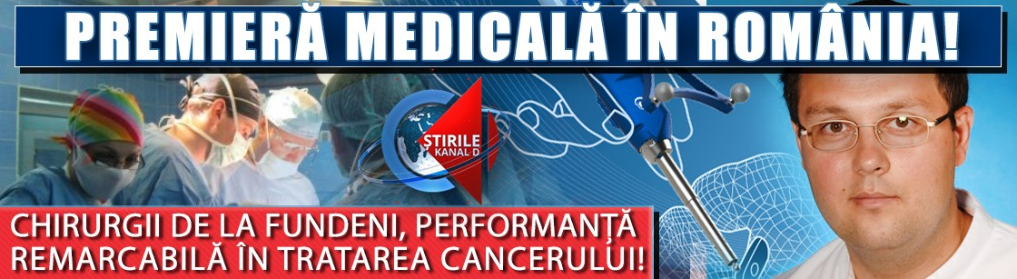 Premieră medicală în România! Chirurgii de la Fundeni, performanță remarcabilă în tratarea cancerului de rect!