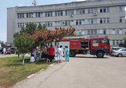 Incendiu la Spitalul CFR Constanţa; 60 de persoane au fost evacuate