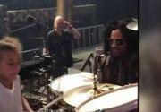 VIDEO | Surpriza lui Lenny Kravitz pentru o fată de 9 ani