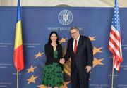 """Ana Birchall: """"Cooperarea România – SUA în domeniul justiției reprezintă o componentă importantă în dezvoltarea și aprofundarea Parteneriatului Strategic dintre cele două state"""""""