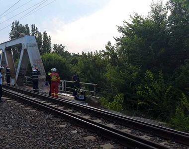 VIDEO | Răsturnare de situație în cazul tânărului electrocutat. Nu se urcase pe pod...