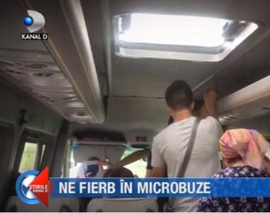 Ne fierb in microbuze. Reportaj cu camera ascunsă