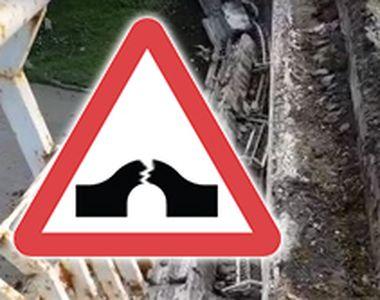 VIDEO | Pod grav avariat în Buzău. Șoferii au trecut prin clipe grele
