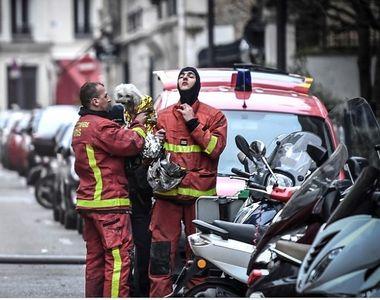Trei persoane au murit într-un incendiu la Paris