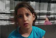 """Imagini tulburatoare cu sora Sorinei, fata luată pe sus de la Baia de Aramă! Ce declara micuța """"Sufletul meu e despărțit"""""""