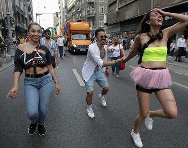 Câteva mii de persoane la Bucharest Pride 2019