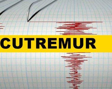 Cutremur de 5,6 grade, produs la suprafață! Unde a avut loc