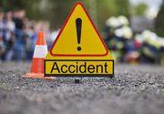 Trafic blocat pe DN 7, în urma unui accident soldat cu moartea unei persoane