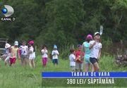 VIDEO | Școlile de vară, soluția pentru copiii care nu merg în vacanță la bunici